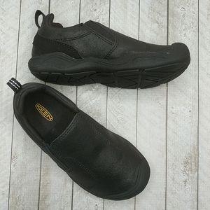 KEEN Black Jasper Slip-On Youth Sneakers Size US13
